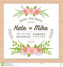 save the date template free download save the date wedding invitation card with flower templates flower