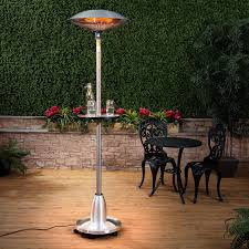 salient palm tower electric outdoor patio heater commercial