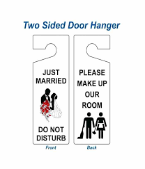 Door Hangers Templates Wedding Hanger Template For Word ...