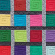 Colorful, quick, striking – solid quilts! - Stitch This! The ... & Detail from Solids Stripes Circles and Squares Adamdwight.com