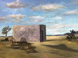 Zona Del Silencio Zone Of Silence Painting By Randy Burns Saatchi Art