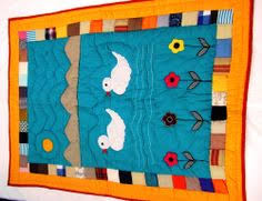 Handmade #baby #quilts in Two Duck #Design | Adi Boutique ... & Handmade #baby #quilts in Two Duck #Design Adamdwight.com