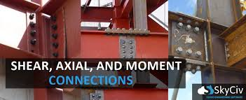 Shear Axial And Moment Steel Connections Skyciv Cloud