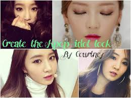 snsd makeup create the kpop idol makeup look courtney lee