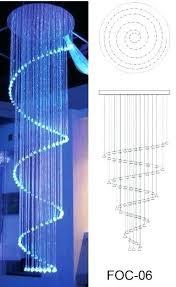 chandeliers fiber optic chandelier suppliers with beads 3d model