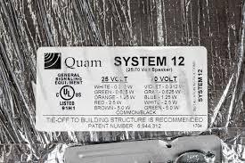 system 12 quam loading