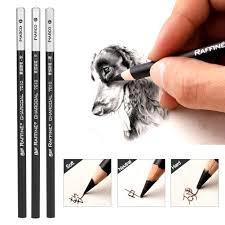 <b>12pcs</b>/<b>Lot</b> Charcoal Pencil <b>Set</b> Professional Art Drawing Sketching ...