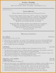 Objective Resume Examples Fresh Nursing Resumes 0d Wallpapers 40
