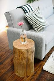 Top 19 Most Fascinating & Practical DIY Tree Stump Table Ideas