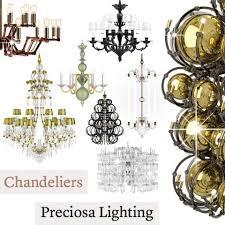 chandeliers preciosa lighting 2018