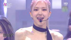 ROSÉ - 'On The Ground' 0314 SBS Inkigayo - YouTube