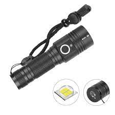 Đèn pin LED mini bỏ túi có cổng sạc USB với nam châm