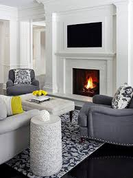 The advent of lightweight, streamlined flat-screen televisions has  seemingly solved the age-old TV-versus-fireplace focal-point conundrum.