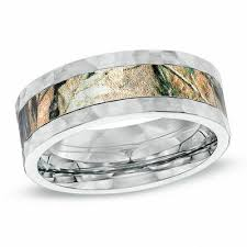 men s 8 0mm cobalt fort fit realtree ap camouflage wedding band size 10