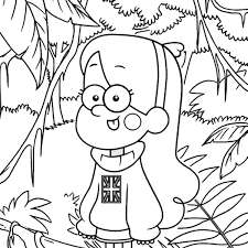 Bill Cipher Gravity Falls Coloring Pages Coloring Pages Zuckett