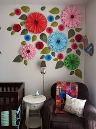 eeaebcde wall flowers paper flowers design inspiration wall decoration at home vintage wall decoration at home