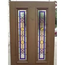 amazing stained glass exterior door simple with image of plan free new at design window light insert uk french paint wood