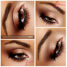 this beautiful bronze eye makeup features a grant of warm and shimmery eye shadow in neutral shades diy this glamorous soft look with this step by step
