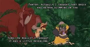 Tantor and Terk | Disney:Tarzan | Pinterest | Tarzan, Thoughts and ... via Relatably.com