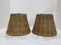 2 pottery barn woven wicker kitchen bath track light lamp sconce shades nautical