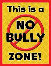 Teacher Created Resources This Is A No Bully Zone Chart