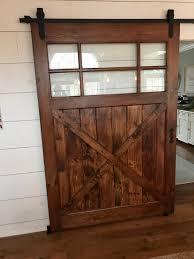 sliding barn doors interior. Interior Barn Door Finished Sliding Doors
