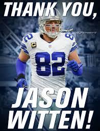 Years Jason Retireing Witten After 15