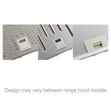 Hood Grease Filter Akdy Range Hood Grease Baffle Filter Replacement 1 Pc Parts