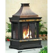 portable outdoor fireplace portable outdoor fireplaces wood burning