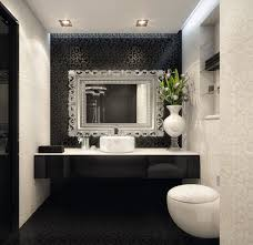 Black And White Bathroom Decor Bathroom Decor Black And White Damask With Red Accent Wash Laundry