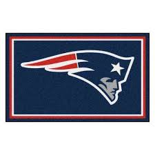 new england patriots 4 ft x 6 ft area rug