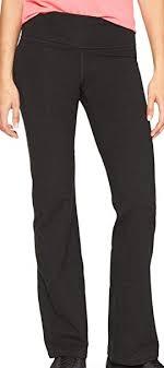 Gap Womens Gapfit Gym Yoga Pants True Black At Amazon