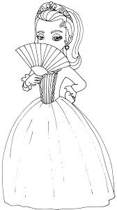 Adult Princess Sofia Coloring Pages Princess Sofia Coloring Pages To