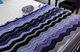 Double Crochet Ripple Afghan Pattern Magnificent 48 Free Crochet Ripple Afghan Patterns