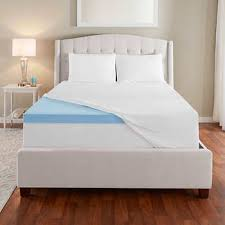 costco mattress topper. Simple Topper Novaform EVENcor GelPlus Gel Memory Foam Mattress Topper With Cooling Cover With Costco