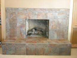 slate tile for a fireplace photo 1
