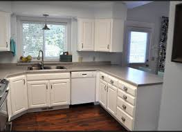 Modren Painting Oak Kitchen Cabinets White Paint For Design Ideas