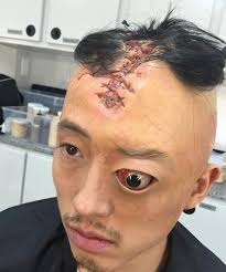 the walking dead makeup season 7 this was crazy