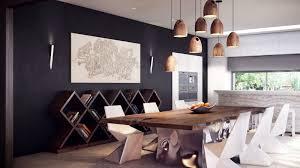 contemporary dining table decor. Creative Retro Spacious Dining Table Contemporary Decor