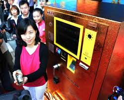 China Gold Vending Machines