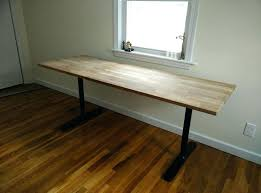 picture of butcher block table ikea solid wood countertop hammarp countertops