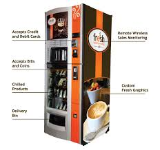 Premium Gourmet Coffee Vending Machine