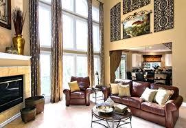 tall wall art high ceiling decor ideas big windows great room decorating walls various decoratin