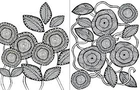 Flower Color Sheets Download These Free Printable Adult Coloring