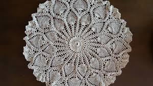 Pineapple Doily Crochet Patterns