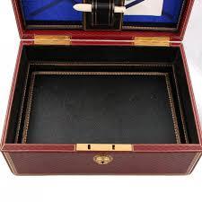 fine victorian leather writing box
