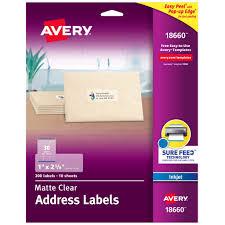 Avery Holiday Label Holiday Stripes Mailingbel Return Address Templatebels Word
