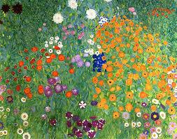 gustav klimt art garden