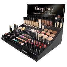 ESSENTIALS MAKEUP DISPLAY 1+1 (1 TESTER + 1 STOCK) GORGEOUS COSMETICS
