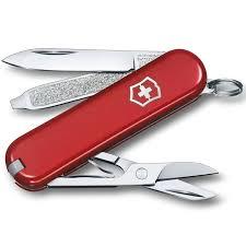 <b>Нож перочинный Victorinox Classic</b> - Красный (0.6223-012 ...